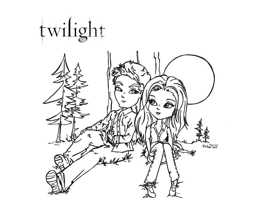 printable twilight coloring pages - photo#4