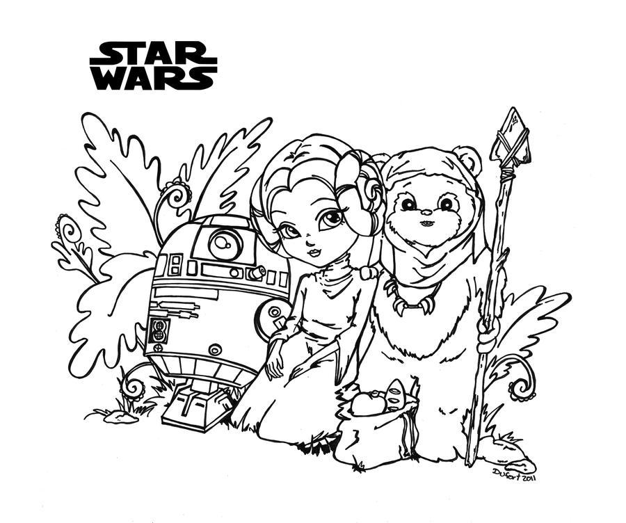Star Wars by JadeDragonne