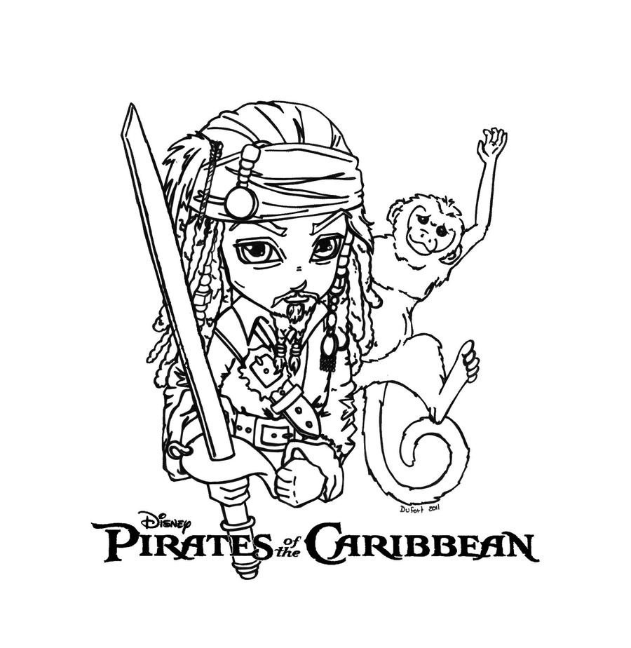 Pirates of the caribbean by jadedragonne on deviantart for Coloring pages of pirates of the caribbean