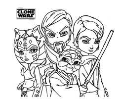The Clone Wars - Star Wars by JadeDragonne