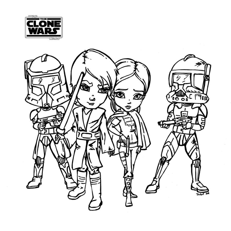 the clone wars coloring pages - the clone wars 02 star wars by jadedragonne on deviantart