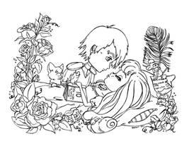 Sleeping Beauty by JadeDragonne