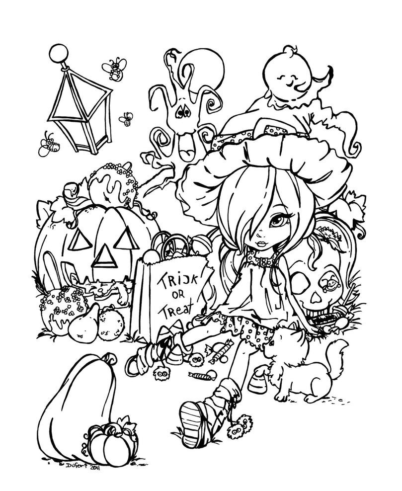 Just can 39 t wait for halloween by jadedragonne on deviantart Coloring book for adults naughty coloring edition