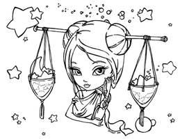 Zodiac - Libra by JadeDragonne