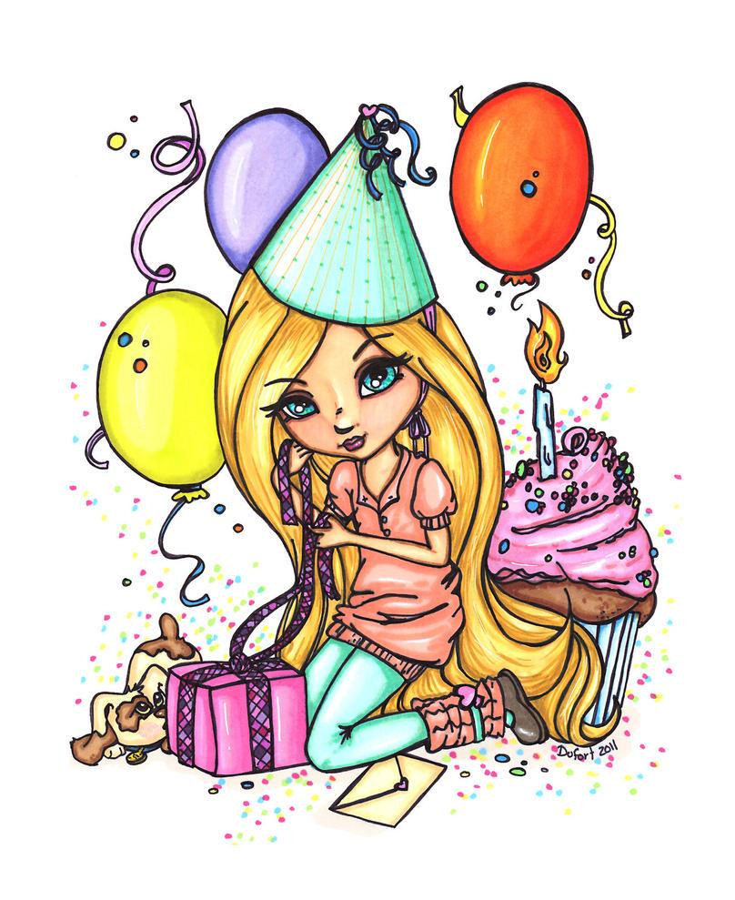 Happy Birthday By JadeDragonne On DeviantArt