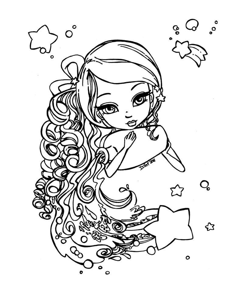 Zodiac  Aquarius By JadeDragonne On DeviantArt