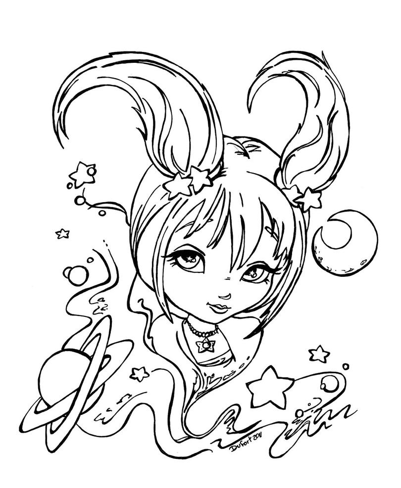 capricorn coloring pages zodiac capricorn by jadedragonne on deviantart