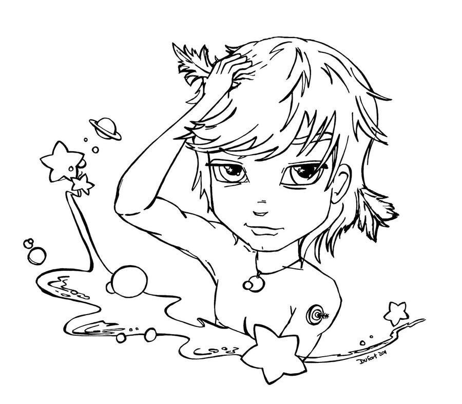 2 Forum Sergei Naomi Duo Kvetinas Sketch Coloring Page