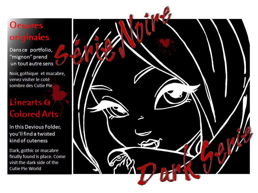 DARK SERIE Folder by JadeDragonne