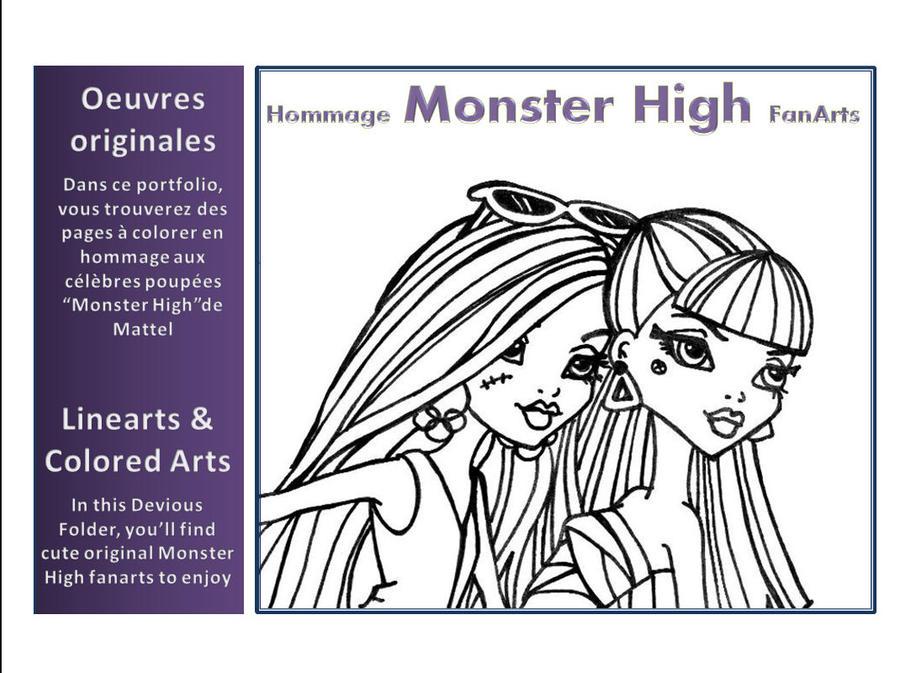 MONSTER HIGH Folder by JadeDragonne