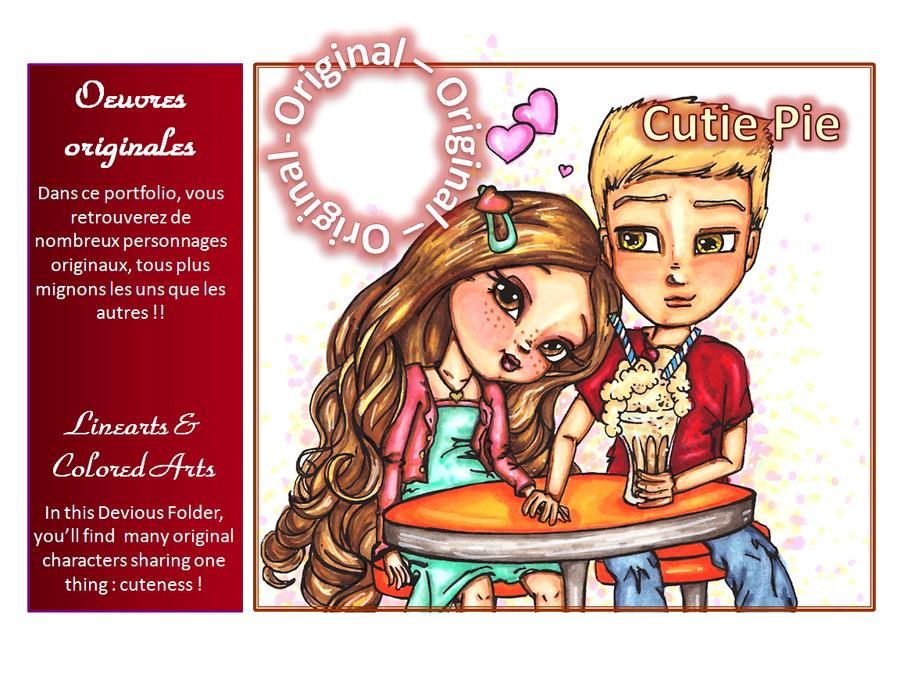 SWEET Cutie Pie Folder by JadeDragonne