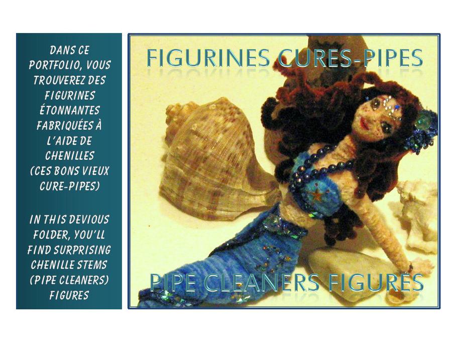 PIPE CLEANERS Folder by JadeDragonne