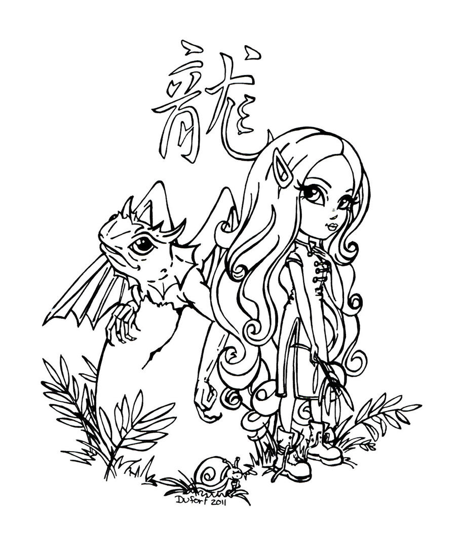 jadedragonne deviantart coloring pages - photo#38