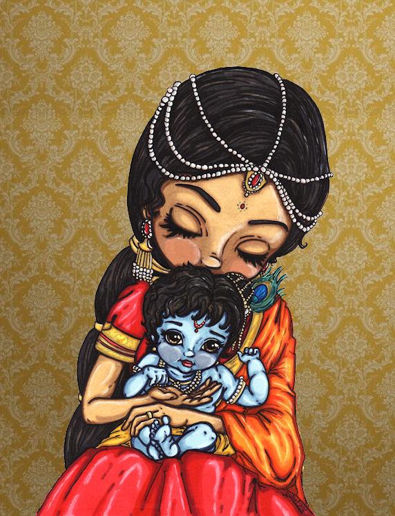 Baby Krishna by JadeDragonne on DeviantArt