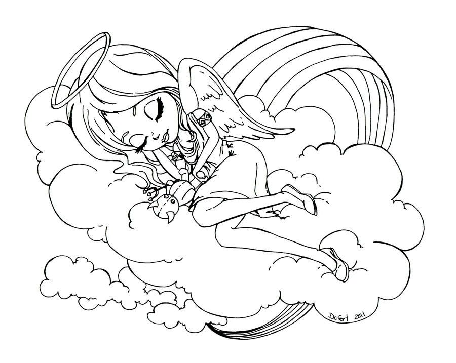 jadedragonne deviantart coloring pages - photo#36