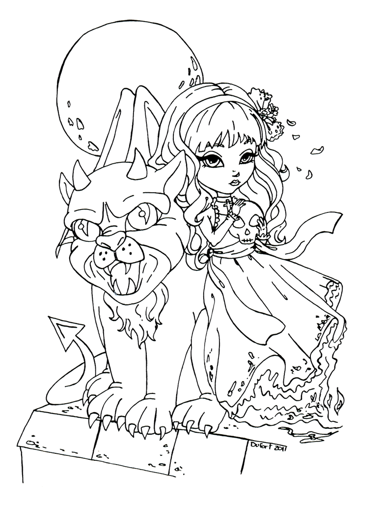 gagroil coloring pages - photo #20
