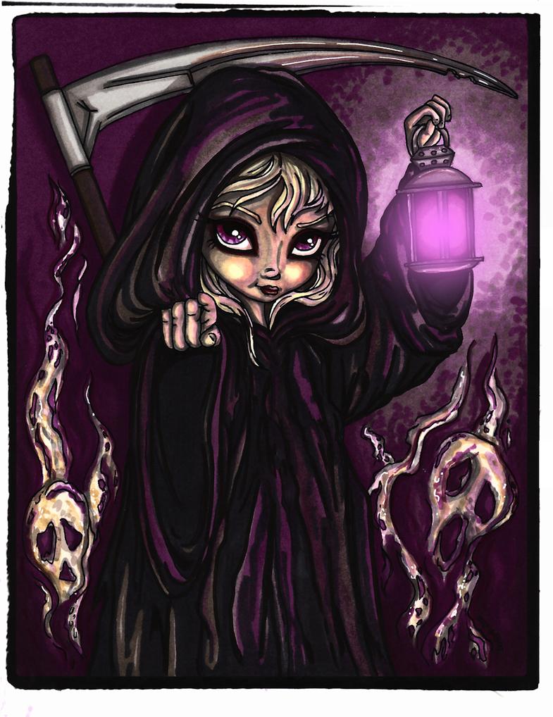 Grim Reaper by JadeDragonne