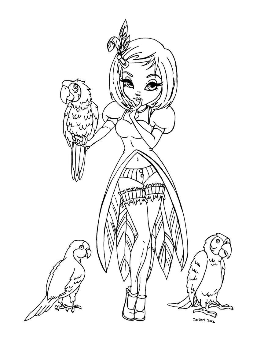 jadedragonne deviantart coloring pages - photo#26