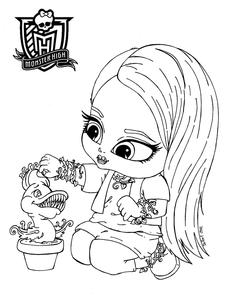 All About Monster High Dolls: Baby Monster High Character ...