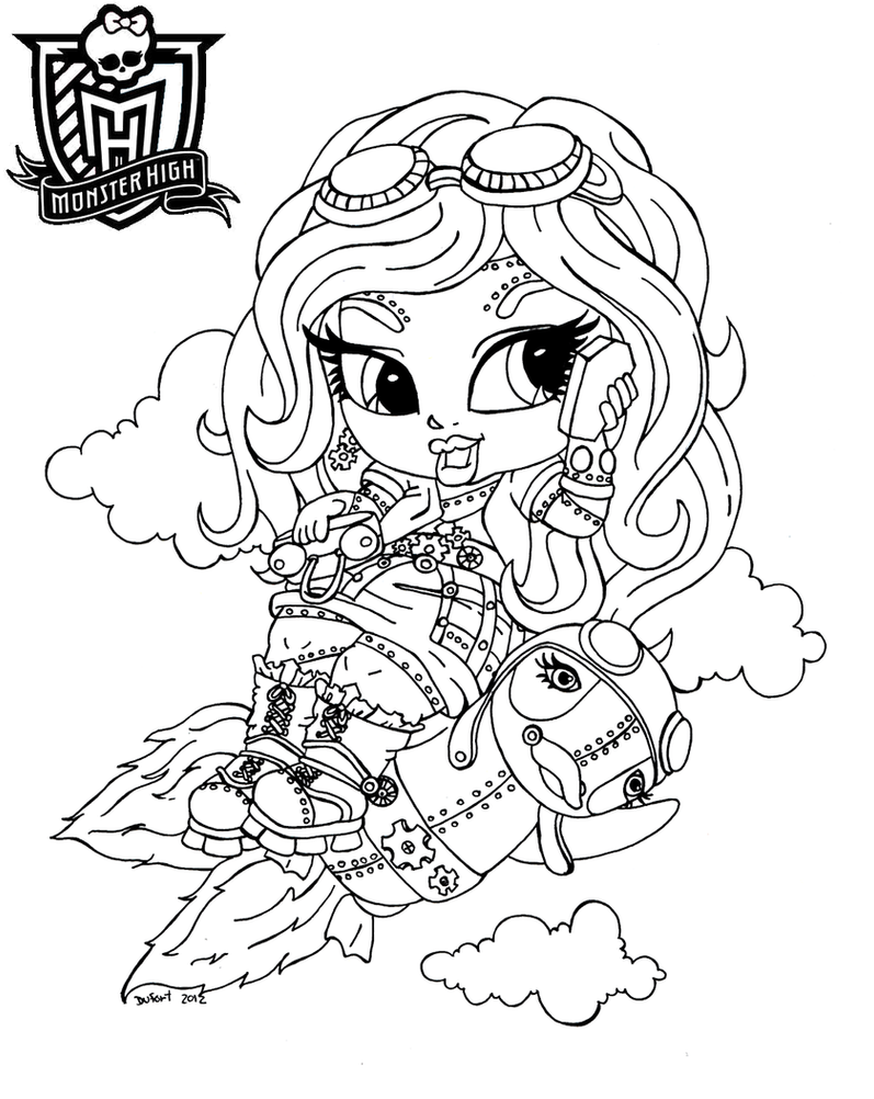 monster high printables coloring pages - monster high character coloring pages best coloring