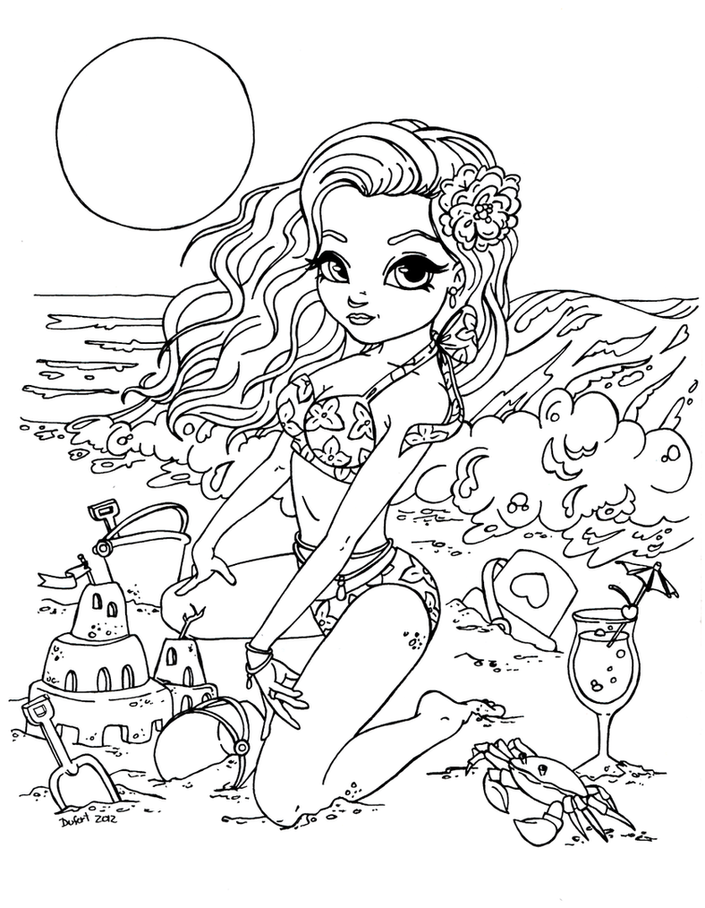 jadedragonne deviantart coloring pages - photo#37