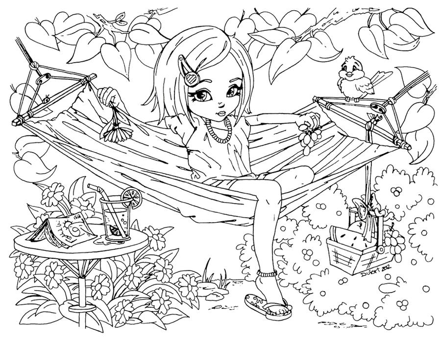 Раскраски для 12 летней девочки