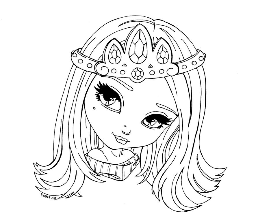 tiara coloring pages - the tiara by jadedragonne on deviantart