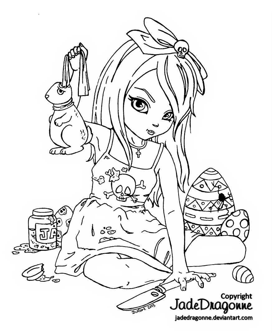 easter dark chocolate lineart by jadedragonne on deviantart