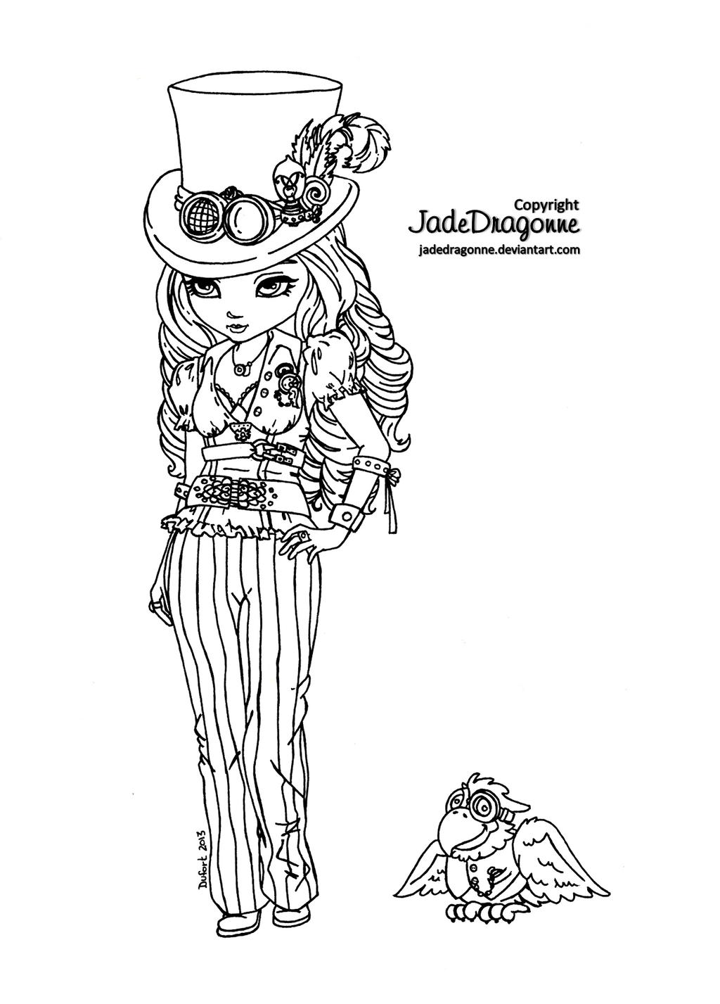 Steampunk Goth by JadeDragonne on DeviantArt