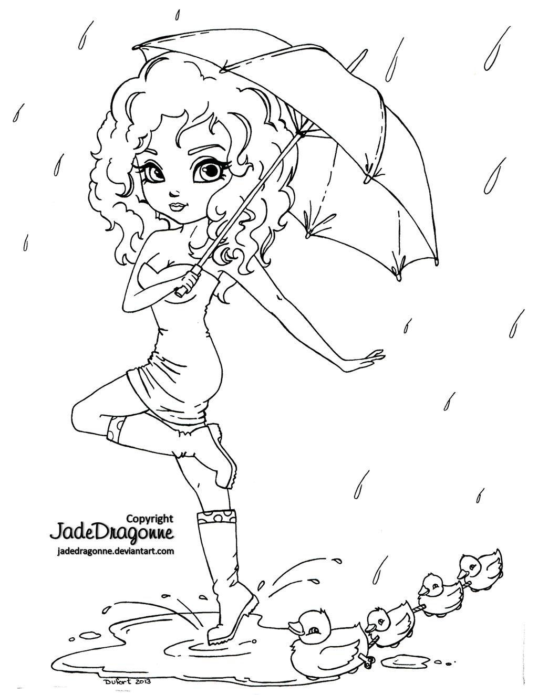 Line Art Umbrella : Umbrella lineart by jadedragonne on deviantart
