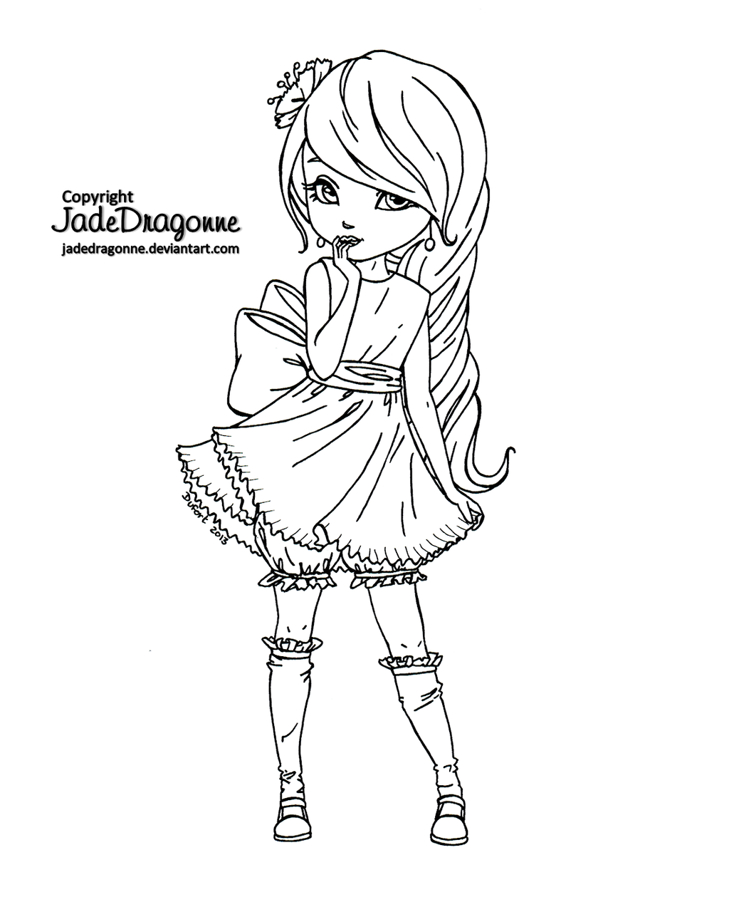jadedragonne deviantart coloring pages - photo#40