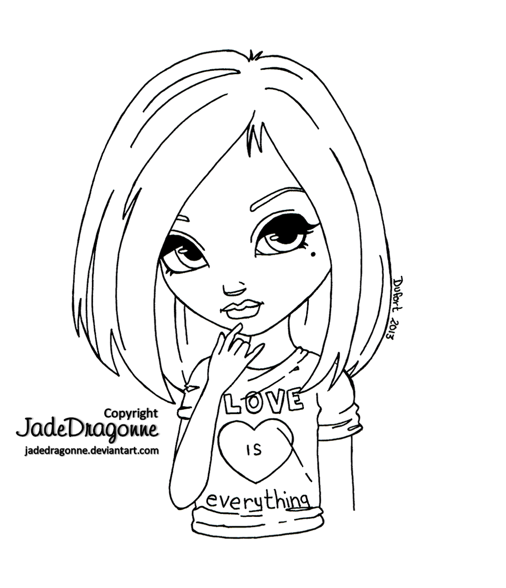 Love is everything by jadedragonne on deviantart for Coloring pages everything