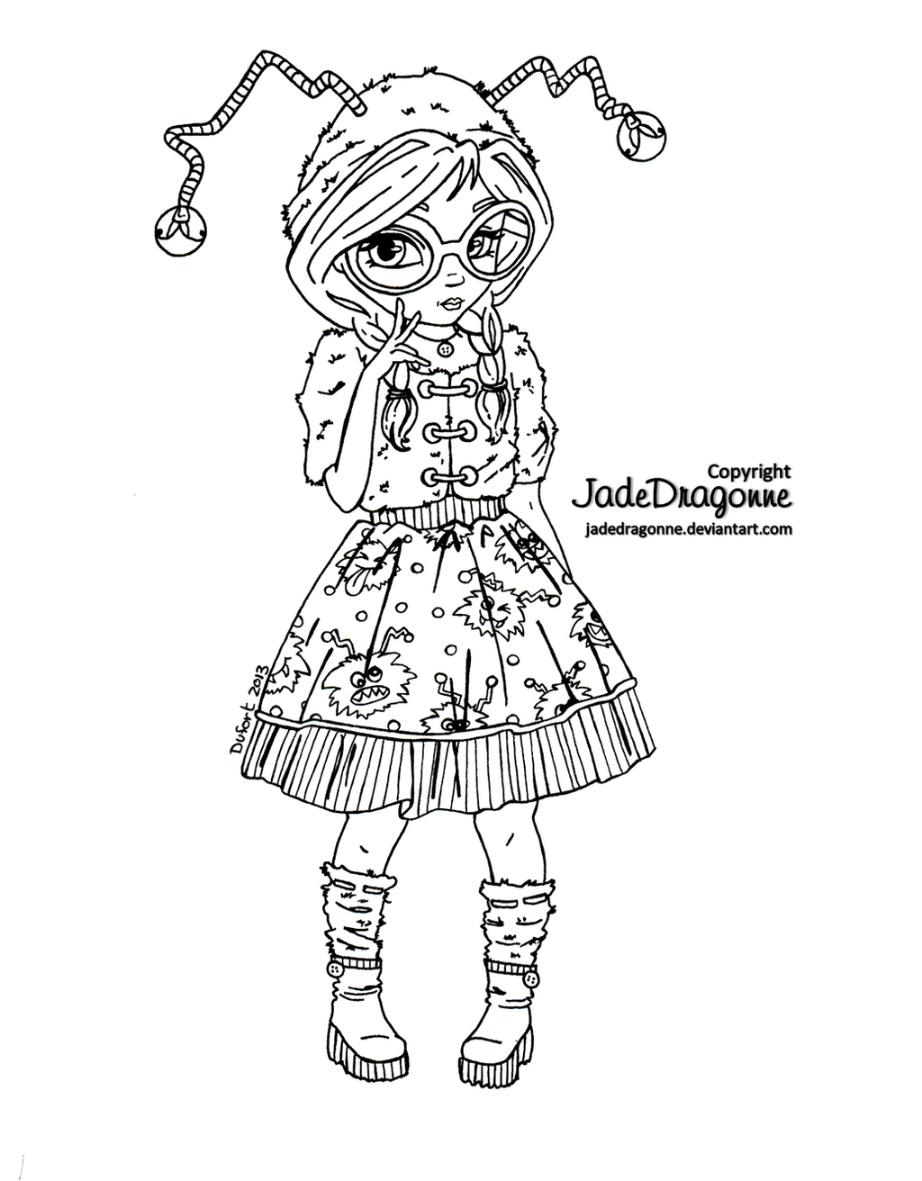 jadedragonne deviantart coloring pages - photo#19