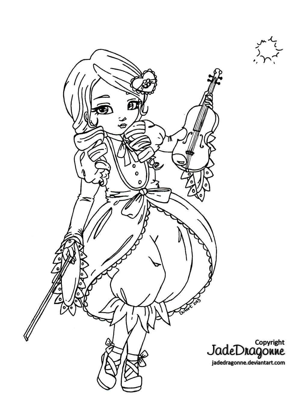 jadedragonne deviantart coloring pages - photo#15