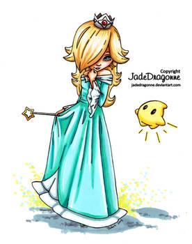 Rosalina from Mario - Colored