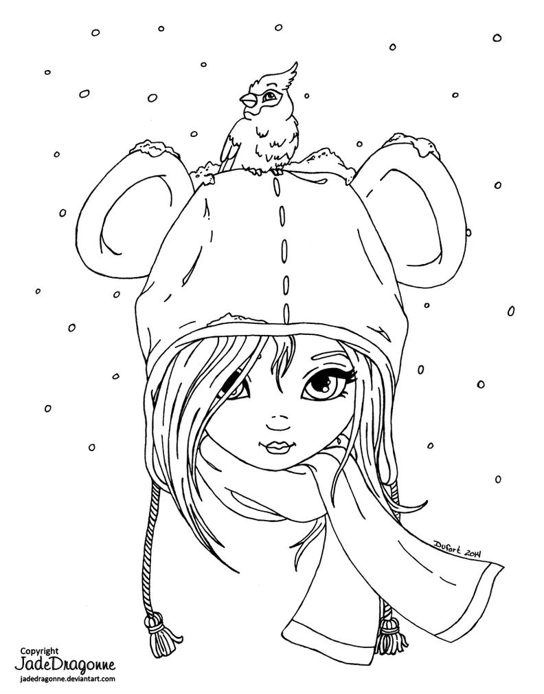 Line Art Nj : Bear hat lineart by jadedragonne on deviantart
