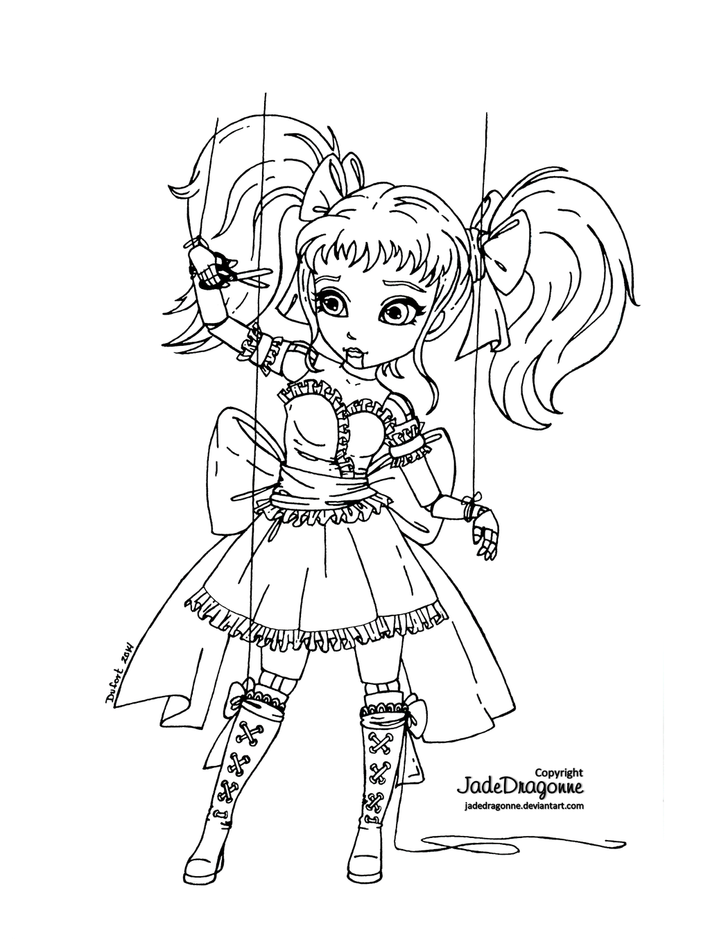 jadedragonne deviantart coloring pages - photo#3