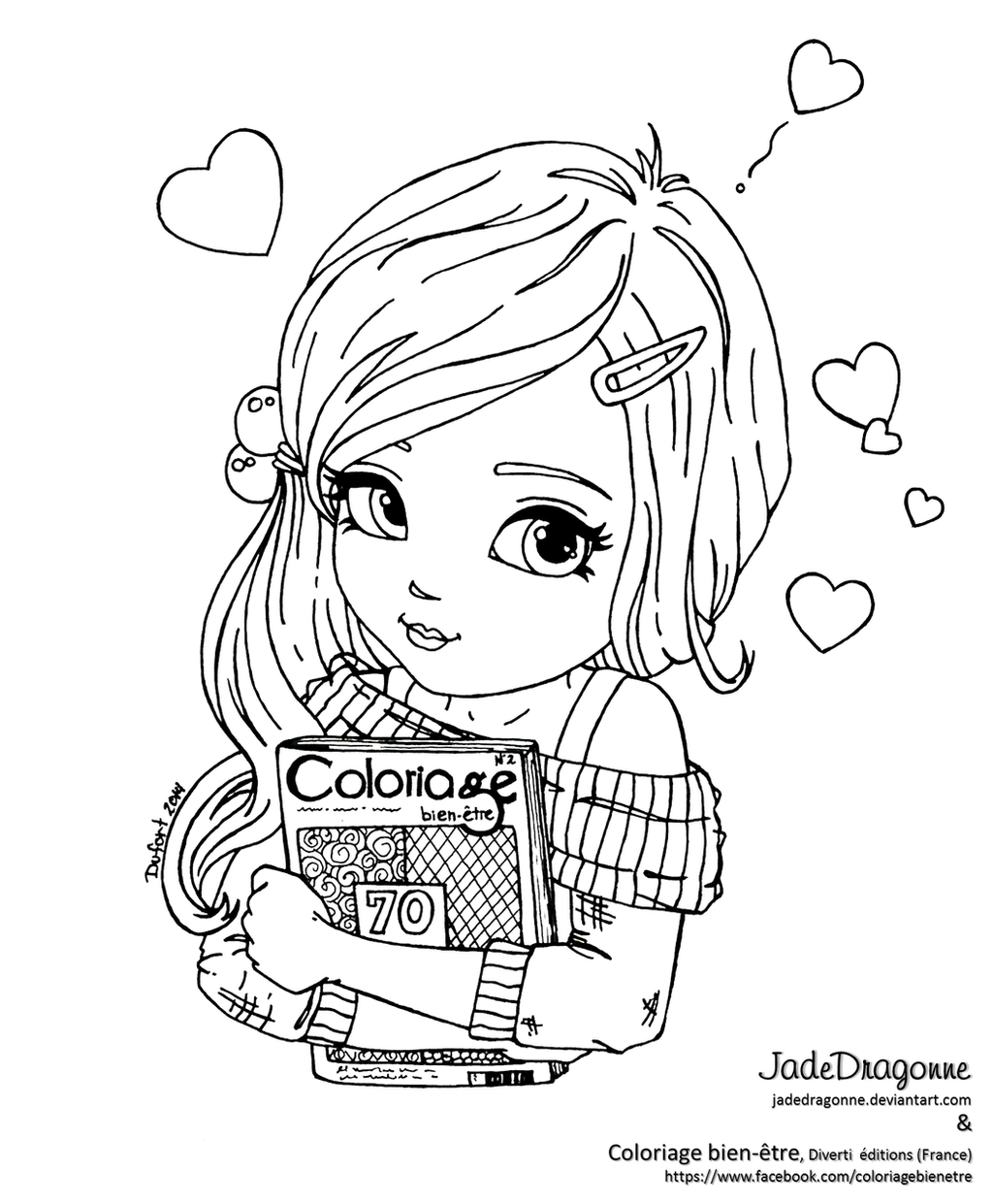 Line Art Coloring Pages : Exciting moment lineart by jadedragonne on deviantart