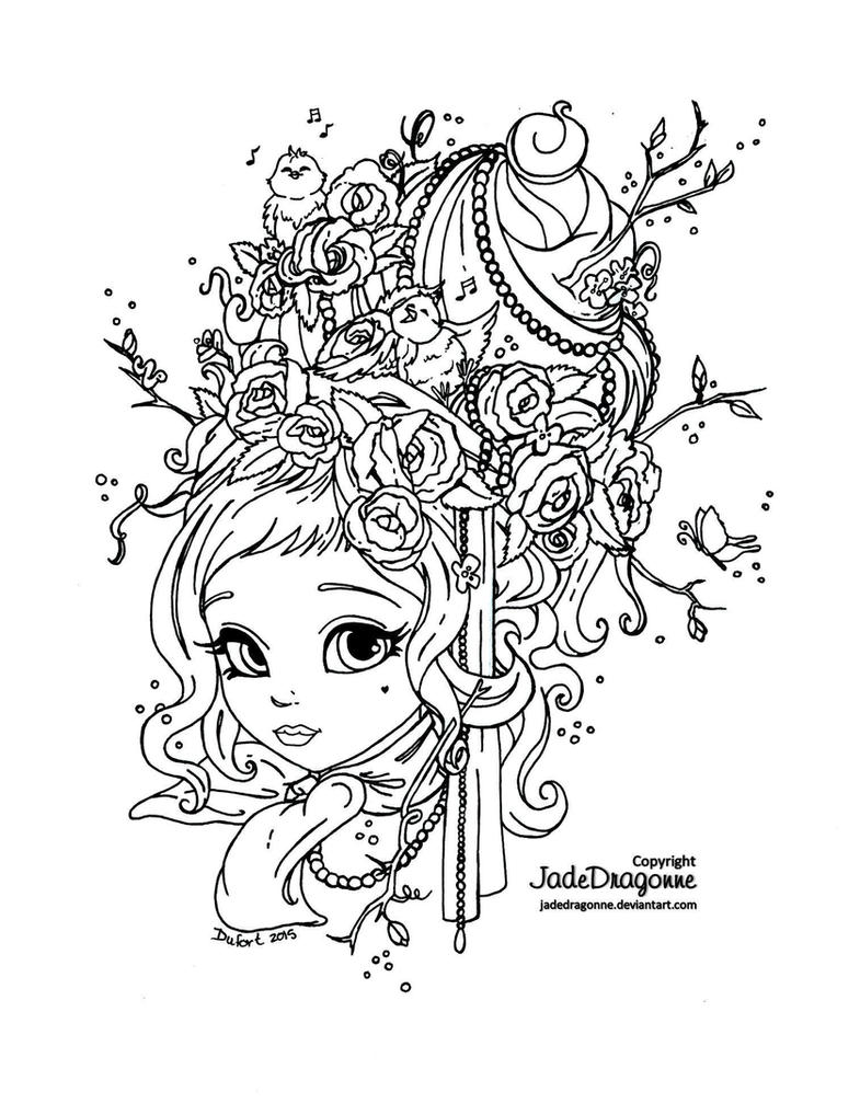 jadedragonne deviantart coloring pages - photo#5
