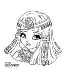 Cleopatra - Lineart