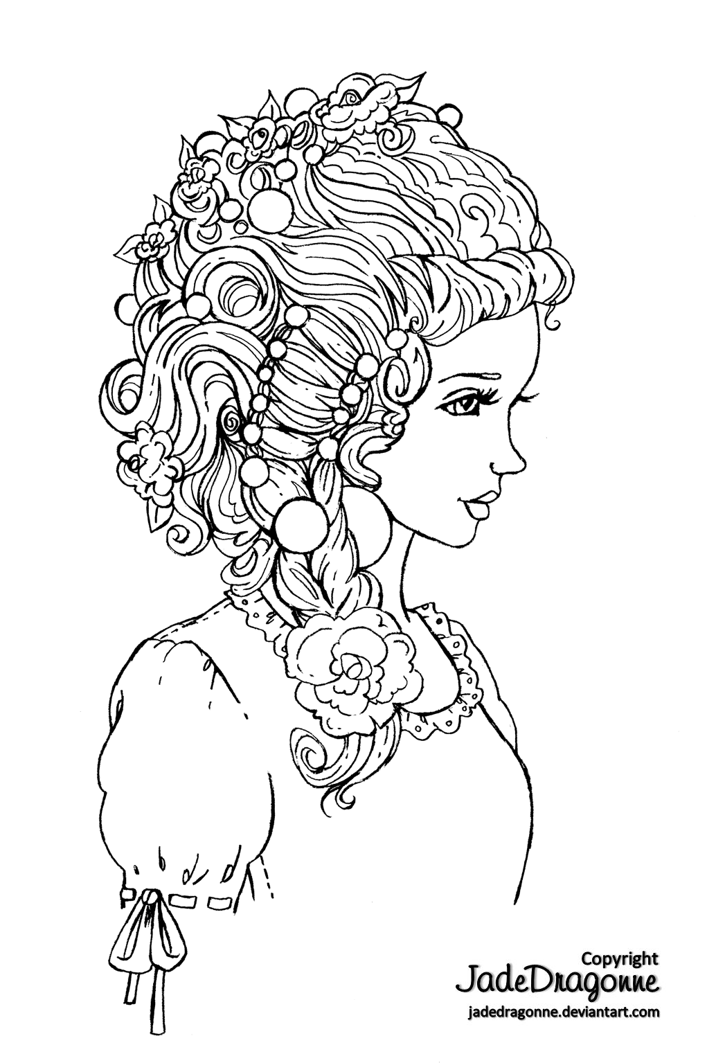 line drawing coloring pages - photo#23