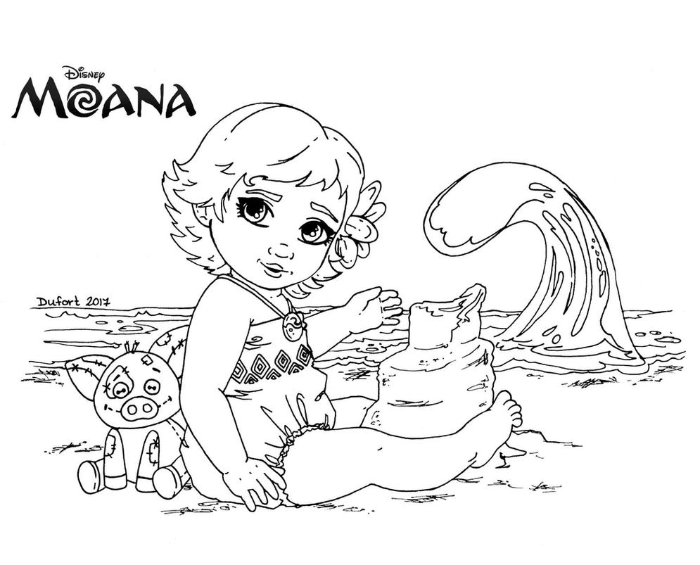 Coloring pages of moana - Moana Coloring Pages Te Fiti Moana Lineart