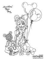 Disney Girls - Minnie by JadeDragonne