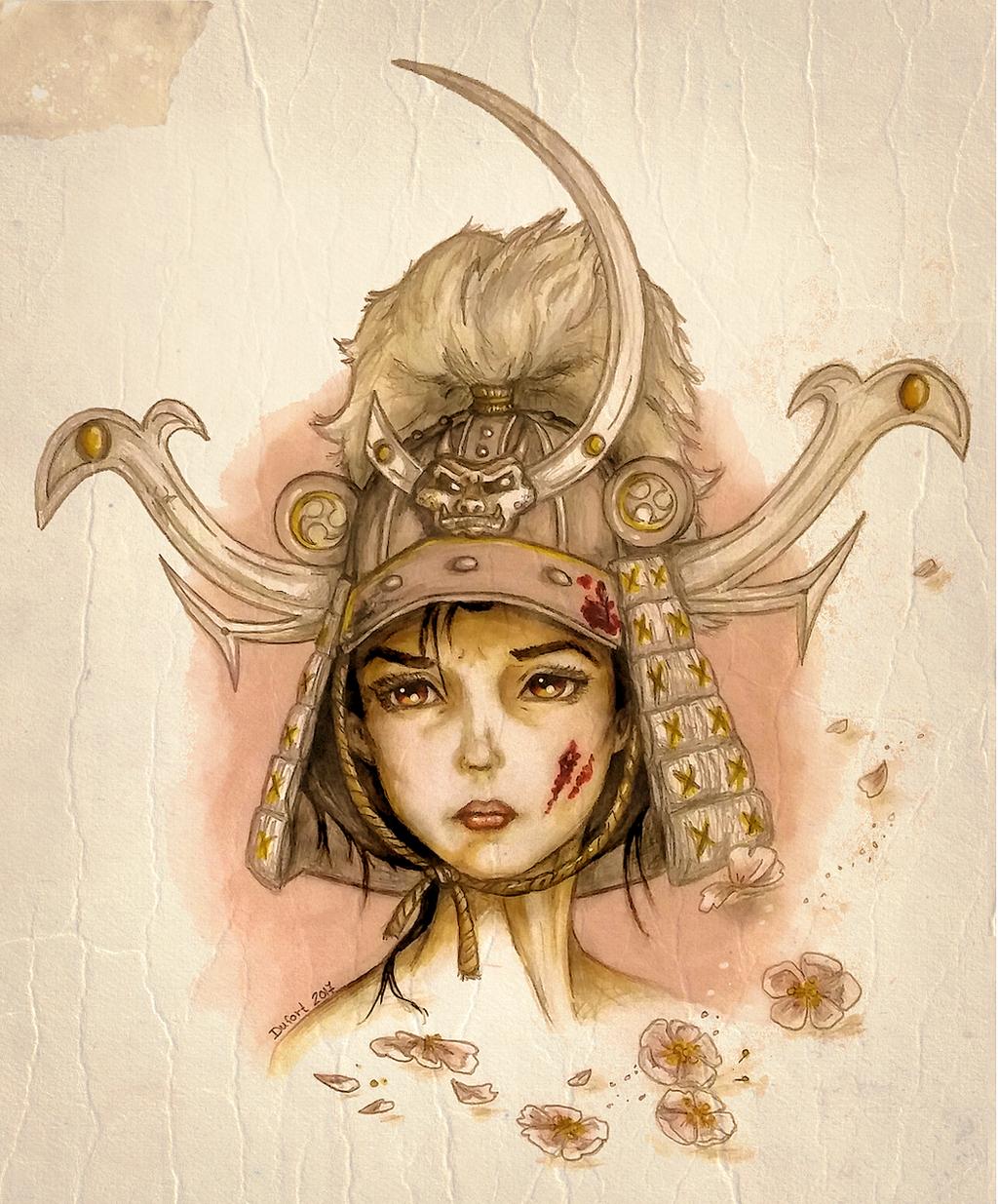 Memories of Onna-Bugeisha by JadeDragonne