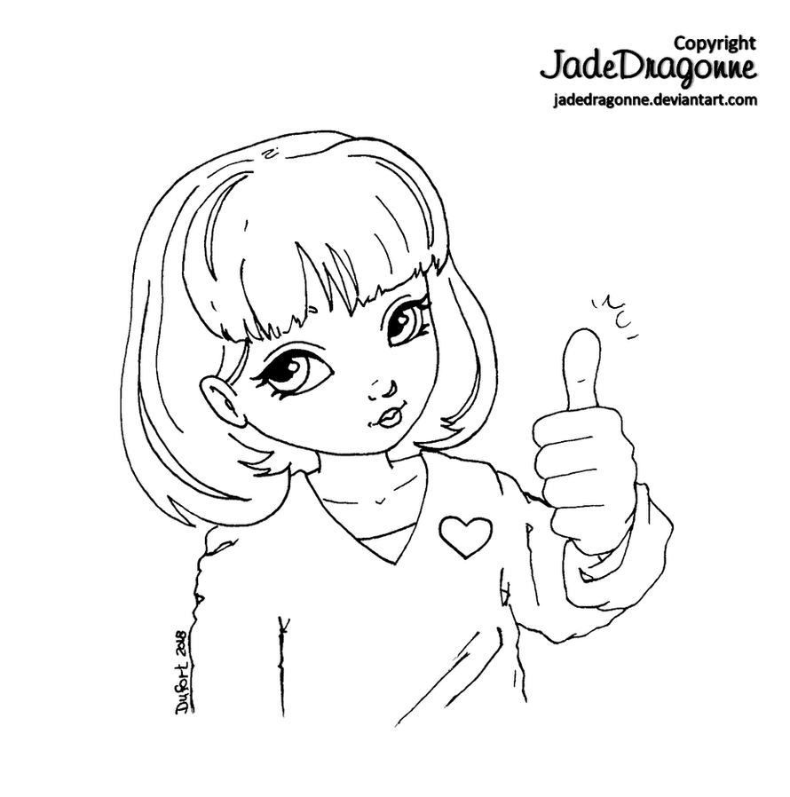 http://thumbs.dreamstime.com/z/photomodel-22603086.jpg_thumbs up - lineart