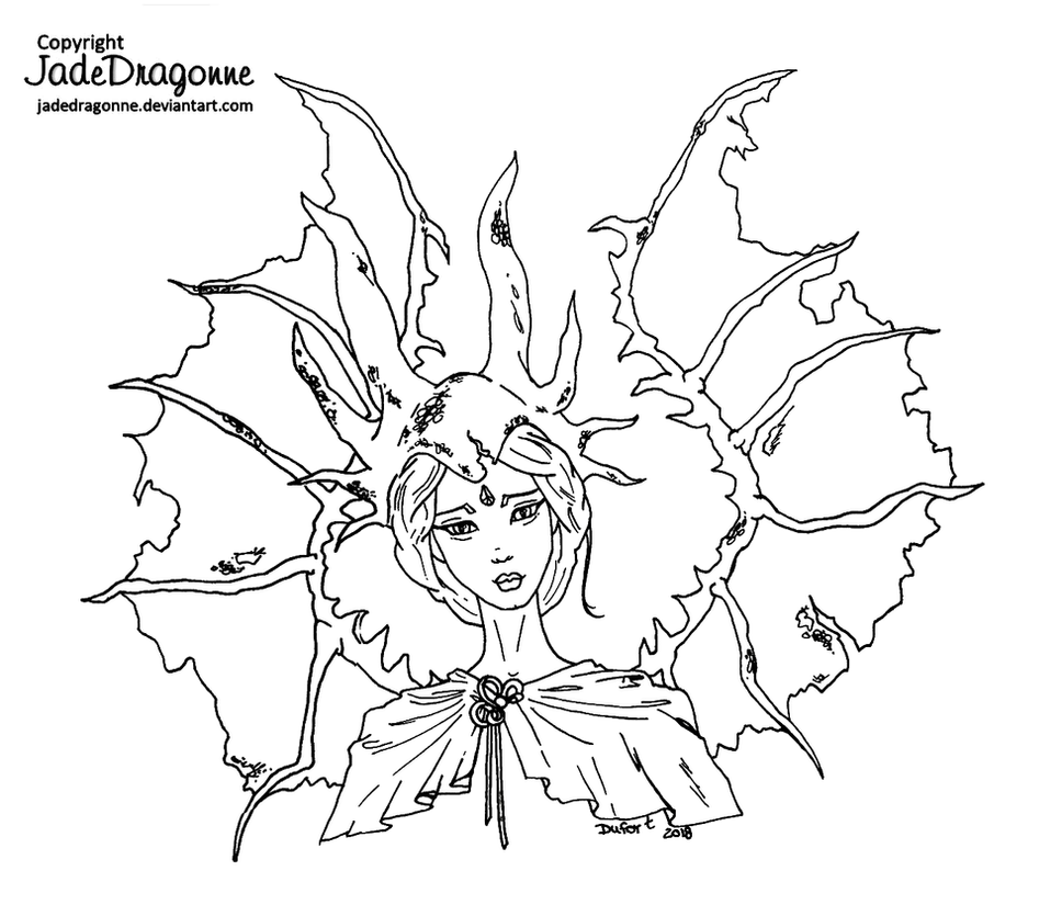 Dragon Lady by JadeDragonne