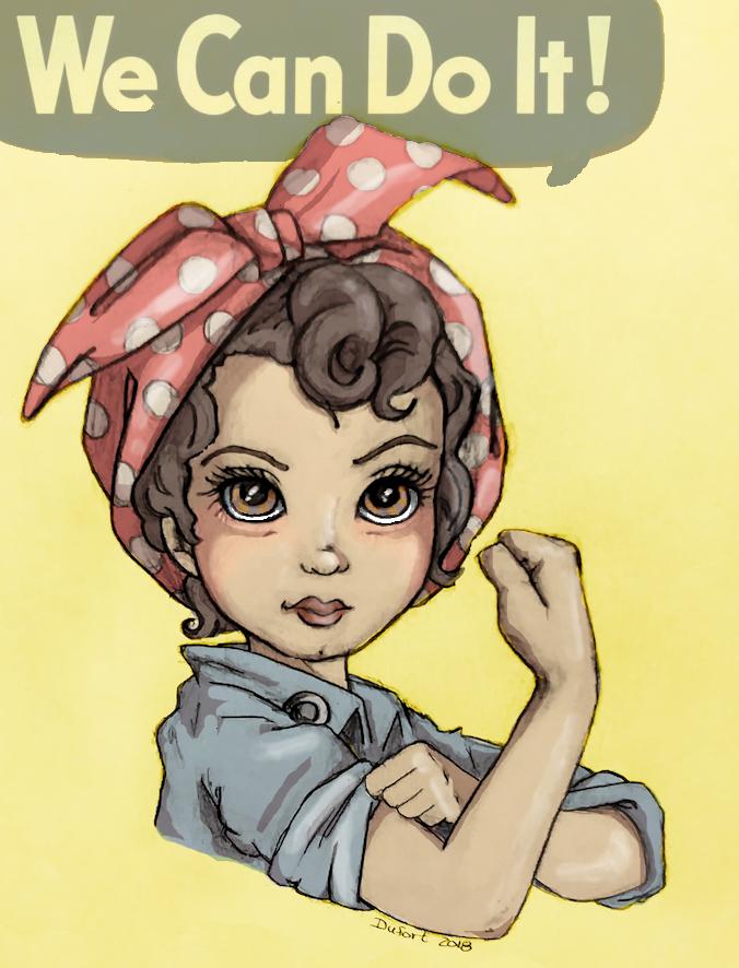 Young Rosie by JadeDragonne