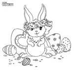 Easter Bunny by JadeDragonne