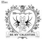 Valentine 2020 - lineart by JadeDragonne