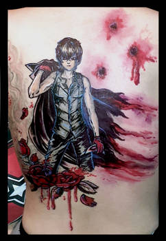 Persona 5 body painting